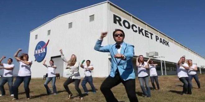 Video insólito: Integrantes de la NASA bailan el Gangnam style
