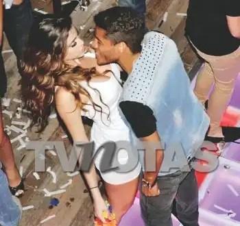 Foto: Belleza le niega un beso a Jonathan Dos Santos