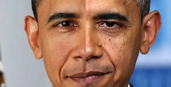 Foto: Así envejeció Barack Obama durante su mandato