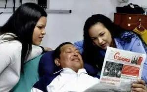 Fotos oficiales de Hugo Chávez en Cuba