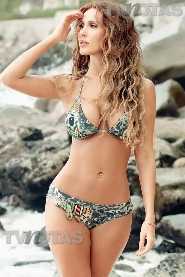 Fotos imperdibles de Ana Bekoa en bikini