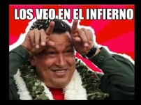 Burlas de la muerte de Hugo Chávez por internet - Fotos