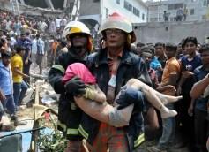 Se derrumba edificio en Bangladesh, hay 110 muertos - Fotos