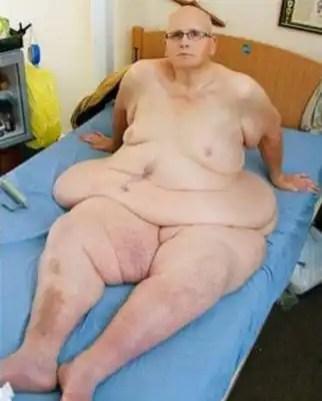 Fotos del hombre más gordo del mundo al natural