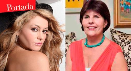Paulina Rubio y su suegra se odian