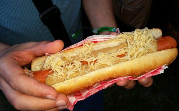 Čili hot dog