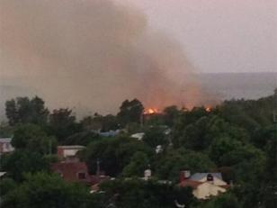 Controlaron el incendio de la reserva de San Isidro