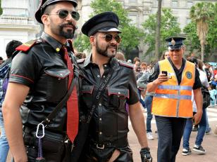 XXII Marcha del Orgullo Gay en Plaza de Mayo
