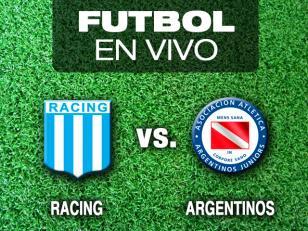 Racing va por otra victoria ante Argentinos