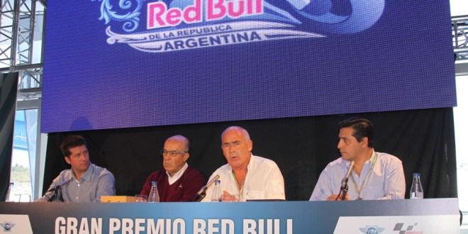 """Meyer presentó El Gran Premio """"Red Bull"""" de la República Argentina de MotoGP 2014"""
