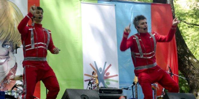 Festival infantil en el ECuNHi