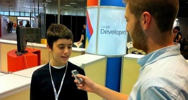 Google contrata a un niño de 12 años
