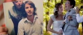 Amor incondicional: se casan a pesar de grave accidente