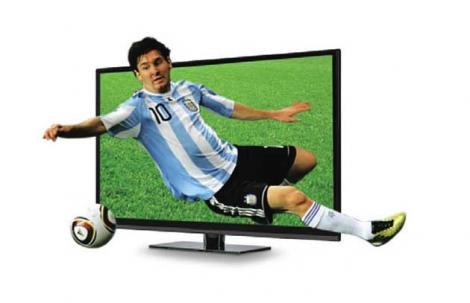 El 47% de los argentinos piensa comprar un TV antes del Mundial de 2014
