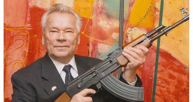 Murió Mijaíl Kalashnikov, el padre del AK-47