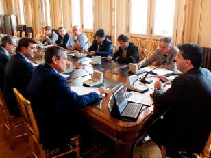 Edesur con el Gobierno analizaron obras para mejorar el suministro eléctrico