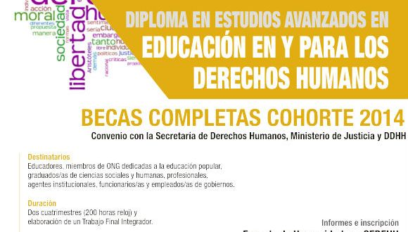 Diploma en Educación en y para los Derechos Humanos