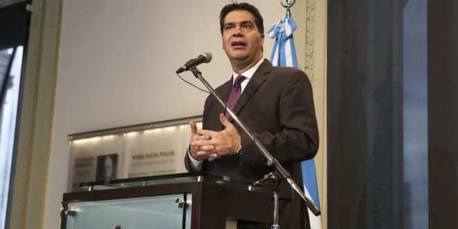 Capitanich : La negociación con el Club de Paris atiende al interés nacional y a la capacidad de pago efectiva
