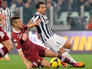 Tevez le dio la victoria a Juventus