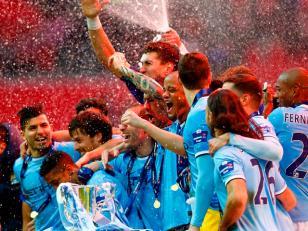 El Manchester City salió campeón de la Copa de Liga