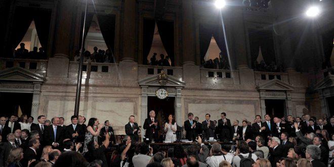 """Cristina anunció el crecimiento con inclusión """"más virtuoso de los últimos 200 años"""" y convocó a la concertación política"""