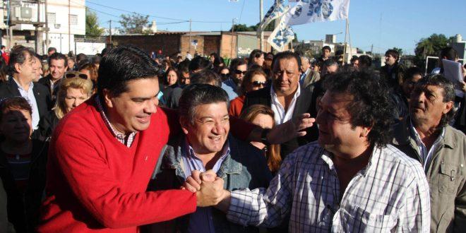 Capitanich inauguró obras en la capital correntina