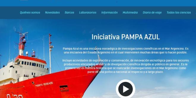 Pampa Azul lanza su página web