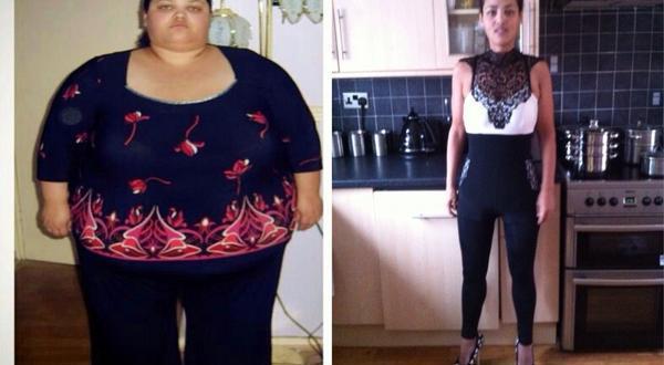 Baja 127 kilos sólo con dieta y ejercicio