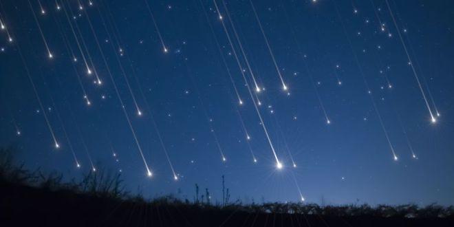 Una gran lluvia de estrellas  será visible hoy y mañana