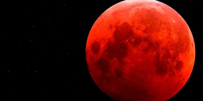 """Este domingo se podrá ver una """"superluna de sangre"""""""