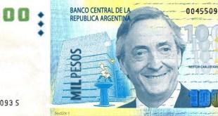 Impulsan la creación del billete de Néstor Kirchner
