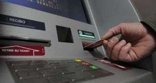 Bancos no cobrarán cargos ni comisiones por usar cajeros automáticos hasta el 30 de junio