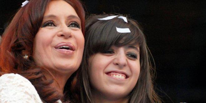 Cristina Kirchner regresa de Cuba junto a su hija Florencia