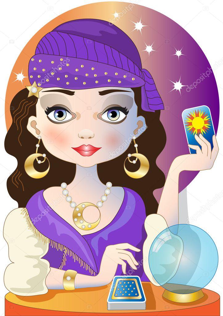 depositphotos_34984377-stock-illustration-the-fortuneteller
