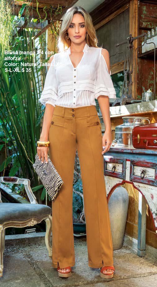busa blanca y pantalon core
