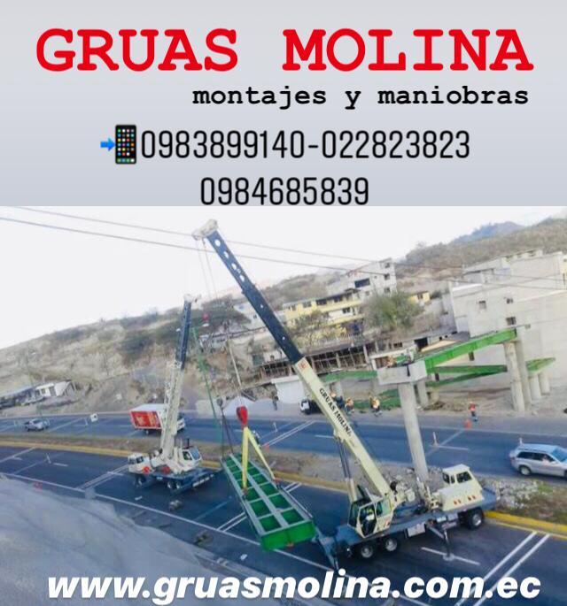 Gruas Molina imagen