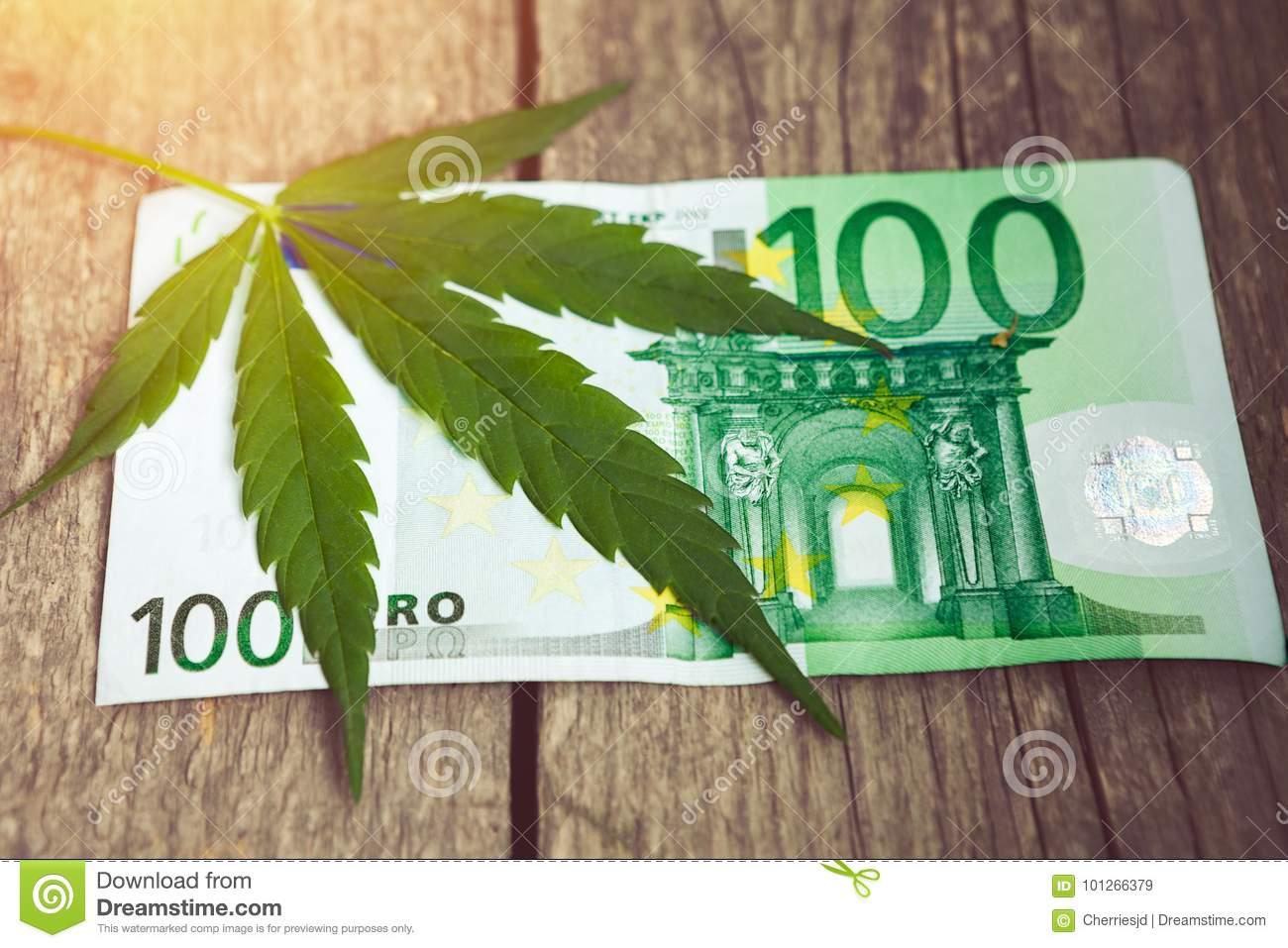 feuille-de-cannabis-sur-l-euro-facture-101266379