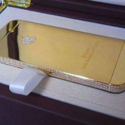 24 karat gold iPhone 5s
