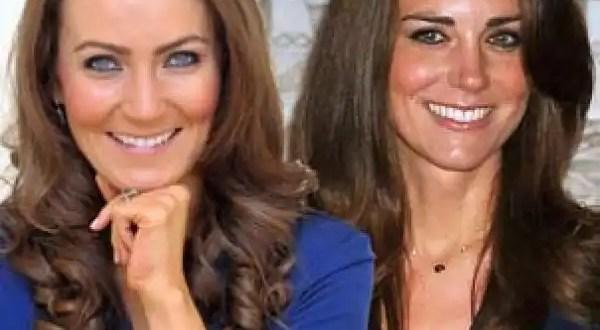 Conoce a la doble de la Princesa Kate Middleton - Fotos