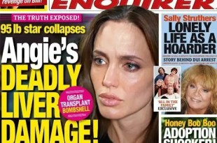 Angelina Jolie demacrada y con hepatitis C - Fotos
