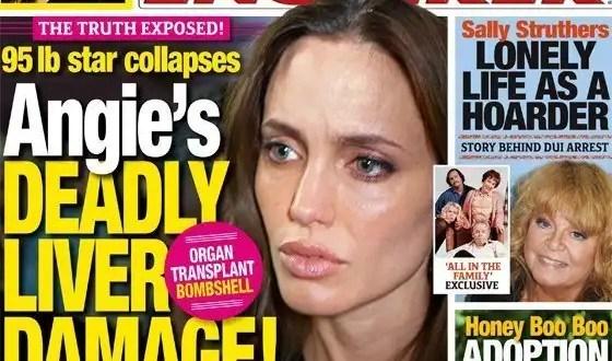 Angelina Jolie demacrada y con hepatitis C - Fotos