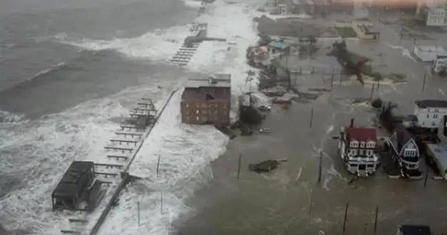 El huracán Sandy deja sin luz Nueva York