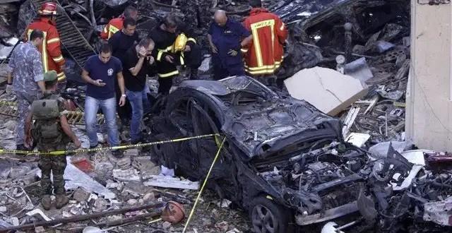 Coche Bomba mata a ocho personas en Beirut