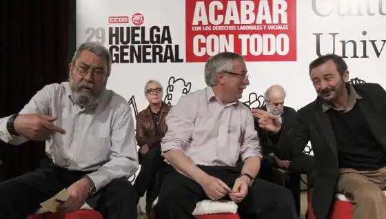 Sindicatos aprueban la convocatoria de huelga general el 14-N