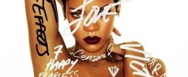 Rihanna sorprende sin ropa en la portada de su nuevo Disco - Fotos