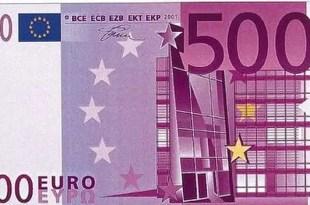 Francia pide retirar los billetes de 500 euros