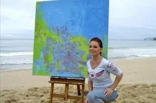 Paloma San Basilio se retira y se dedica a la pintura