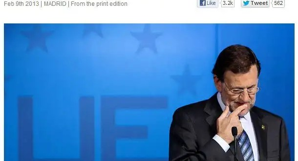 The Economist llamar 'chorizo' a Mariano Rajoy?