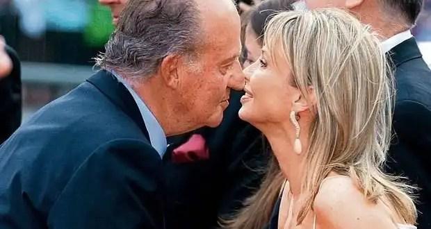 El Rey Juan Carlos 'molesto' con Corinna