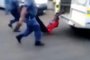 Polémica: Muere un hombre a manos de la Policía en Sudáfrica - Vídeo y Fotos
